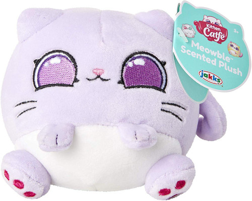 Kitten Catfe Meowbles Series 1 Purple Cat Scented Mini Plush