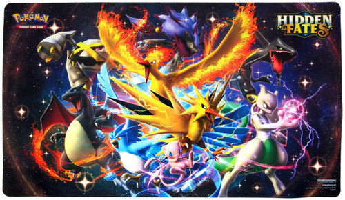 Pokemon Trading Card Game Card Supplies Hidden Fates Playmat