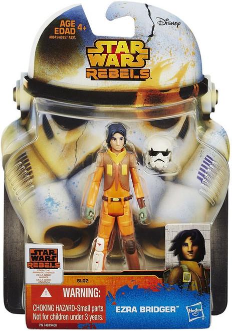 Star Wars Rebels 2015 Saga Legends Ezra Bridger Action Figure SL02 [Damaged Package]