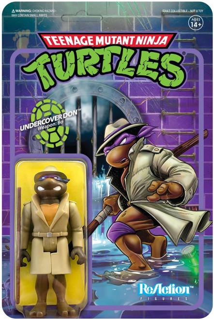 ReAction Teenage Mutant Ninja Turtles Undercover Donatello Action Figure