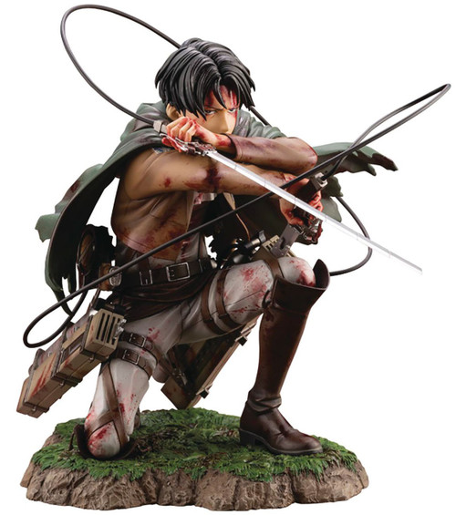 Attack On Titan ArtFX J Levi Statue [Fortitude Version]