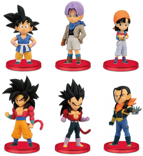 The Dragon Ball GT WCF Dragon Ball GT 2.5-Inch Set of 6 PVC Figures