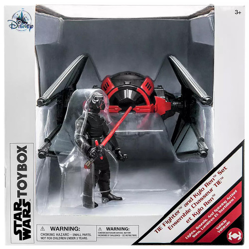 Disney Star Wars The Rise of Skywalker Toybox Kylo Ren with TIE Fighter Exclusive 5-Inch Playset
