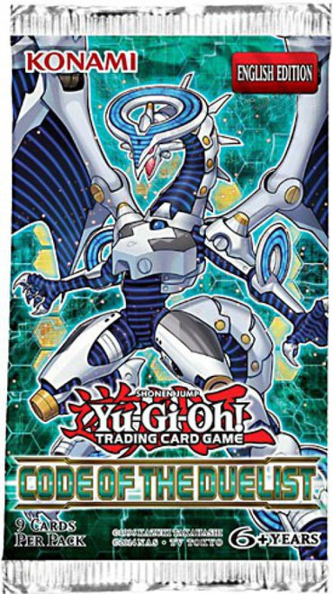 YuGiOh Trading Card Game Code of the Duelist (Unlimited) Booster Pack