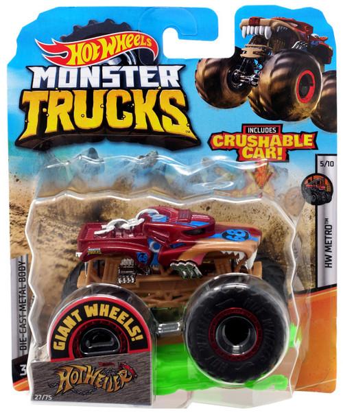 Hot Wheels Monster Trucks HW Metro Hotweiler Diecast Car