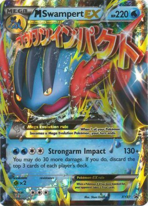 Pokemon X & Y Promo Rare M Swampert EX XY87