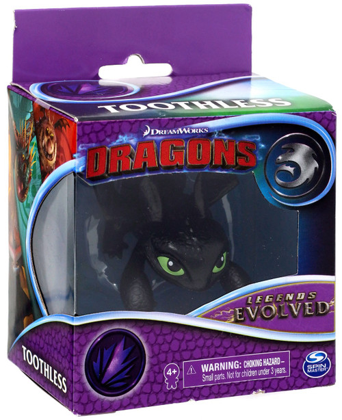 How to Train Your Dragon Dragons Legends Evolved Toothless 3-Inch Figure