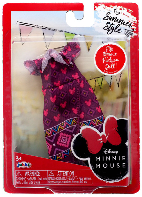 Disney Minnie Mouse Summer Style 9-Inch Doll Accessory