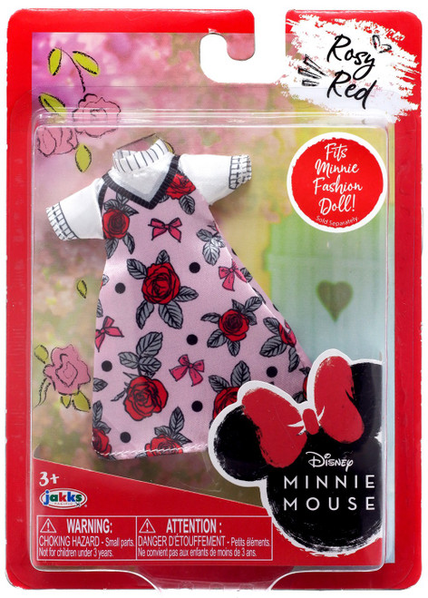 Disney Minnie Mouse Rosy Red 9-Inch Doll Accessory