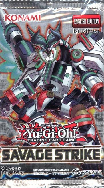 YuGiOh Trading Card Game Savage Strike Booster Pack