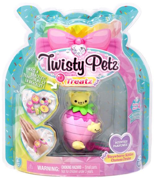 Twisty Petz Treatz Series 4 Strawberry Kitties Bracelet