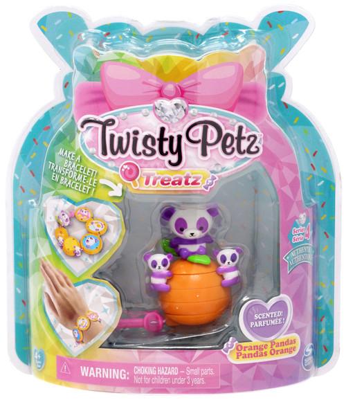 Twisty Petz Treatz Series 4 Orange Pandas Bracelet