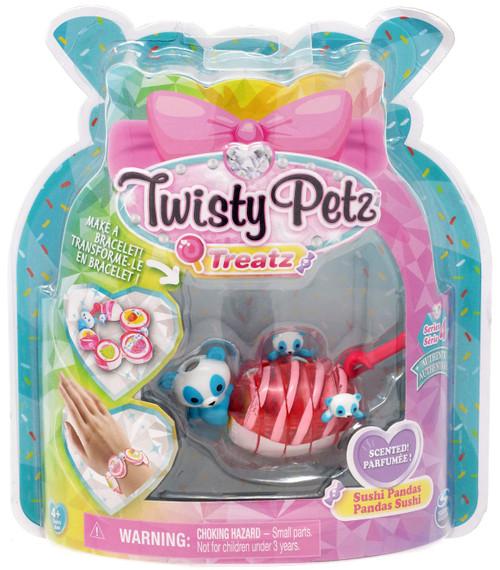 Twisty Petz Treatz Series 4 Sushi Pandas Bracelet