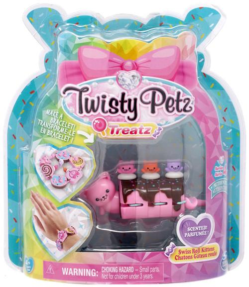Twisty Petz Treatz Series 4 Swiss Roll Kittens Bracelet
