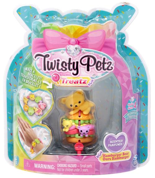 Twisty Petz Treatz Series 4 Hamburger Bear Bracelet