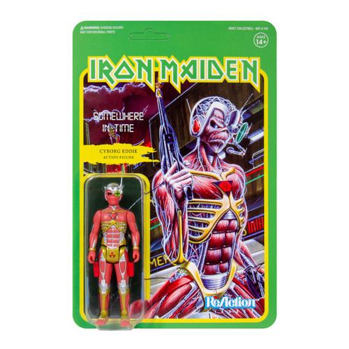 ReAction Iron Maiden Somewhere In Time Action Figure [Album Art]