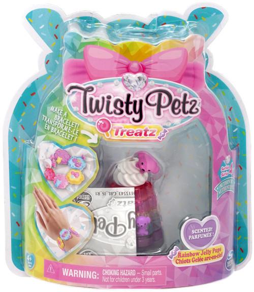Twisty Petz Treatz Series 4 Rainbow Jelly Pups Bracelet