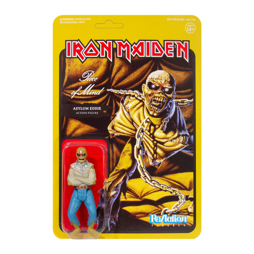 ReAction Iron Maiden Piece of Mind Action Figure [Album Art]