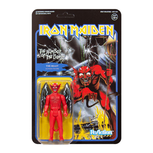 ReAction Iron Maiden The Number of the Beast Action Figure [Album Art]