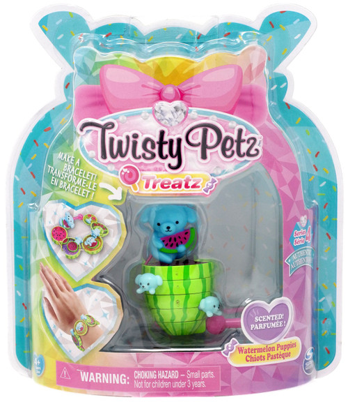Twisty Petz Treatz Series 4 Watermelon Puppies Bracelet