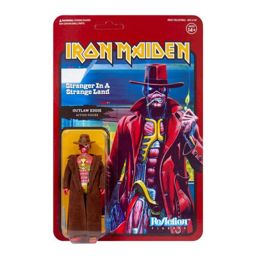 ReAction Iron Maiden Stranger In A Strange Land Action Figure [Single Art]