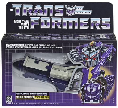 Transformers Vintage G1 Astrotrain Exclusive Legion Action Figure [Triple Changer]