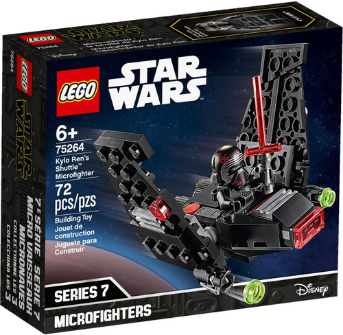 LEGO Star Wars Microfighters Series 7 Kylo Ren's Shuttle Microfighter Set #75264