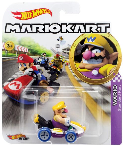 Hot Wheels Mario Kart Wario Diecast Car [Standard Kart]