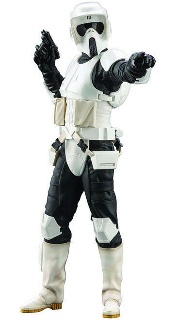 Star Wars Return of the Jedi ArtFX+ Scout Trooper Multi-Pose Statue