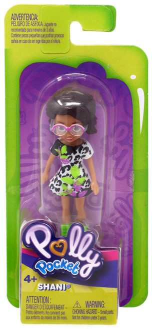 Polly Pocket Trendy Outfit Shani Mini Figure [Floral Dress]