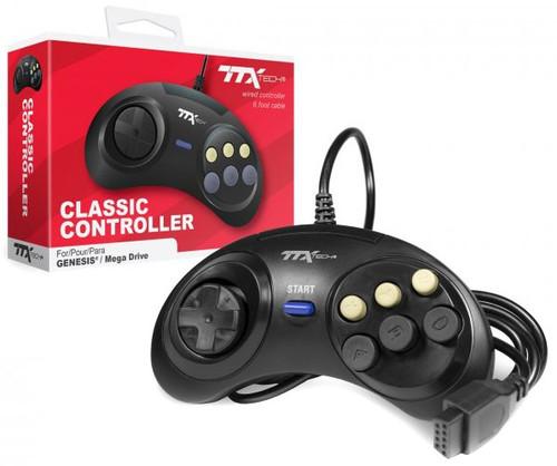 Sega Genesis / Megadrive Wired Controller