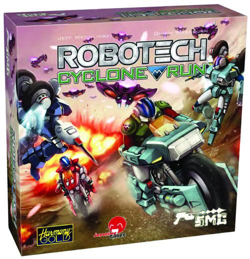 Robotech: Cyclone Run Dice & Card Game