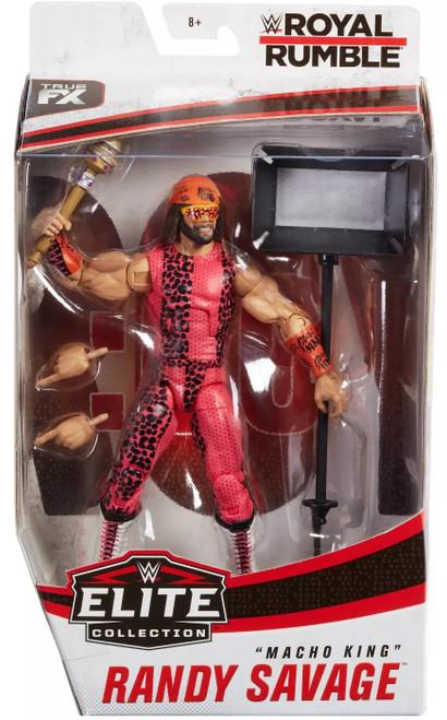 "WWE Wrestling Elite Collection Royal Rumble ""Macho Man"" Randy Savage Action Figure"