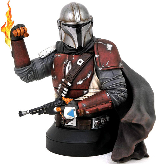 Star Wars The Mandalorian Mini Bust