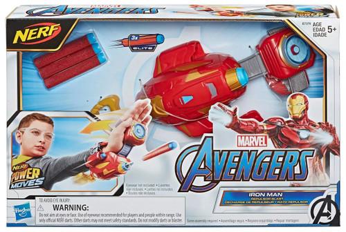 Marvel Avengers Endgame Nerf Power Moves Iron Man - Repulsor Blast