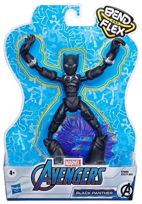 Marvel Avengers Bend & Flex Black Panther Action Figure