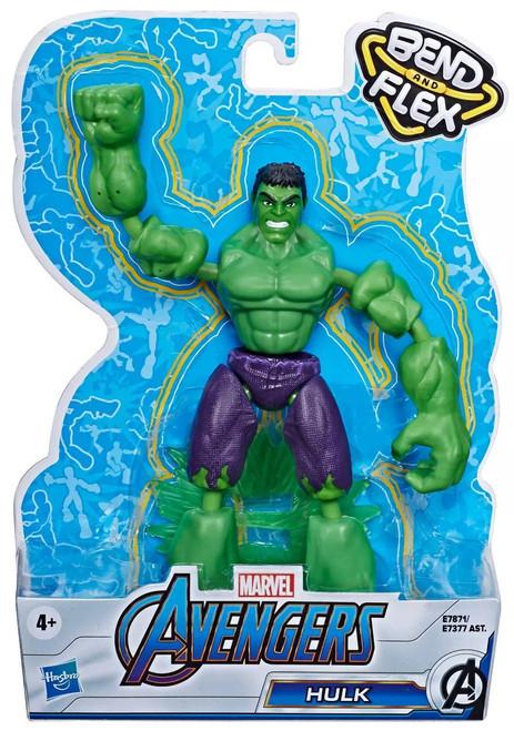 Marvel Avengers Bend & Flex Hulk Action Figure
