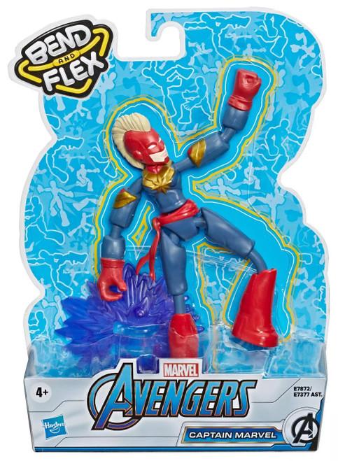 Avengers Bend & Flex Captain Marvel Action Figure