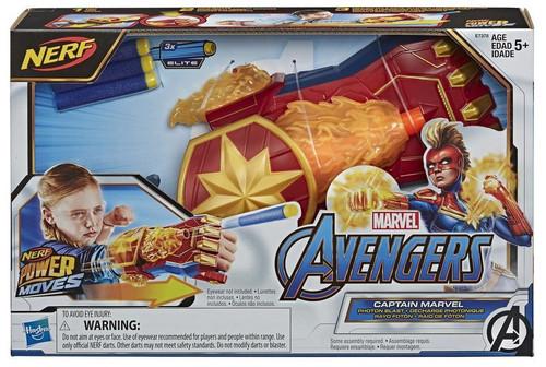Avengers Endgame Nerf Power Moves Captain Marvel - Photon Blast