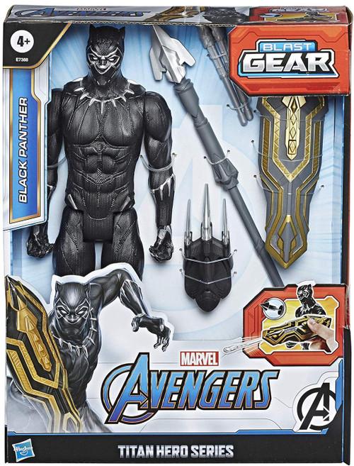 Marvel Avengers Titan Hero Series Blast Gear Black Panther Action Figure