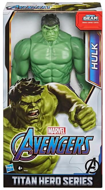 Marvel Avengers Titan Hero Series Blast Gear Hulk Action Figure