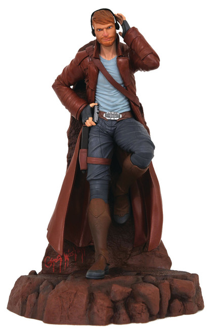 Guardians of The Galaxy Marvel Gallery Star Lord 10-Inch PVC Figure Statue [Comic Version] (Pre-Order ships January)