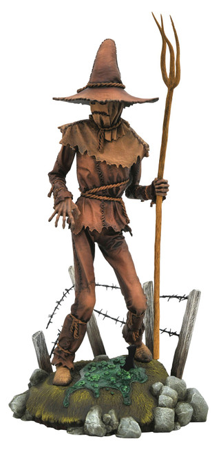 DC Gallery Scarecrow 10-Inch PVC Statue [Comic Version]
