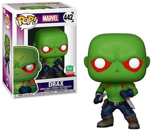 Funko POP! Marvel Drax Exclusive Vinyl Figure #442