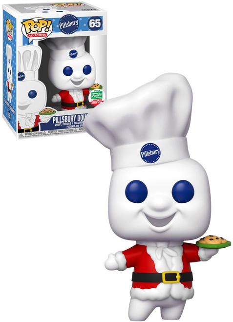Funko POP! Ad Icons Pillsbury Doughboy Exclusive Vinyl Figure #65 [Holiday, Holding Pie]