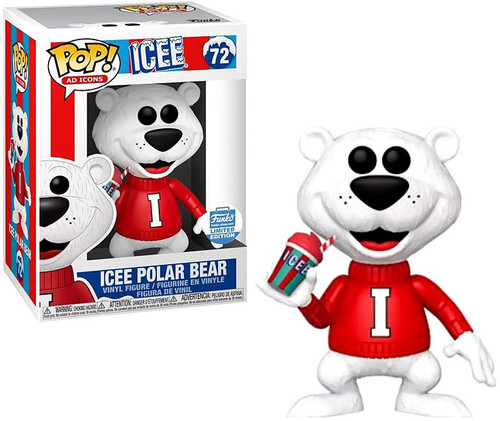 Funko POP! Ad Icons ICEE Polar Bear Exclusive Vinyl Figure #72