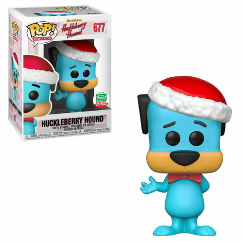 Funko Hanna-Barbera POP! TV Huckleberry Hound Exclusive Vinyl Figure #677 [Holiday]