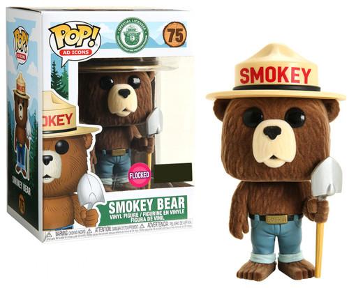 Funko POP! Ad Icons Smokey Bear Exclusive Vinyl Figure #75 [Shovel, Flocked]