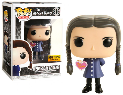 Funko The Addams Family POP! TV Wednesday Addams Exclusive Vinyl Figure #816 [Valentine]