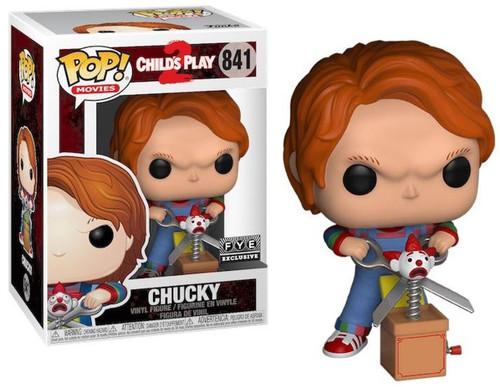 Funko Child's Play 2 POP! Movies Chucky Exclusive Vinyl Figure #841 [Jack & Scissors]